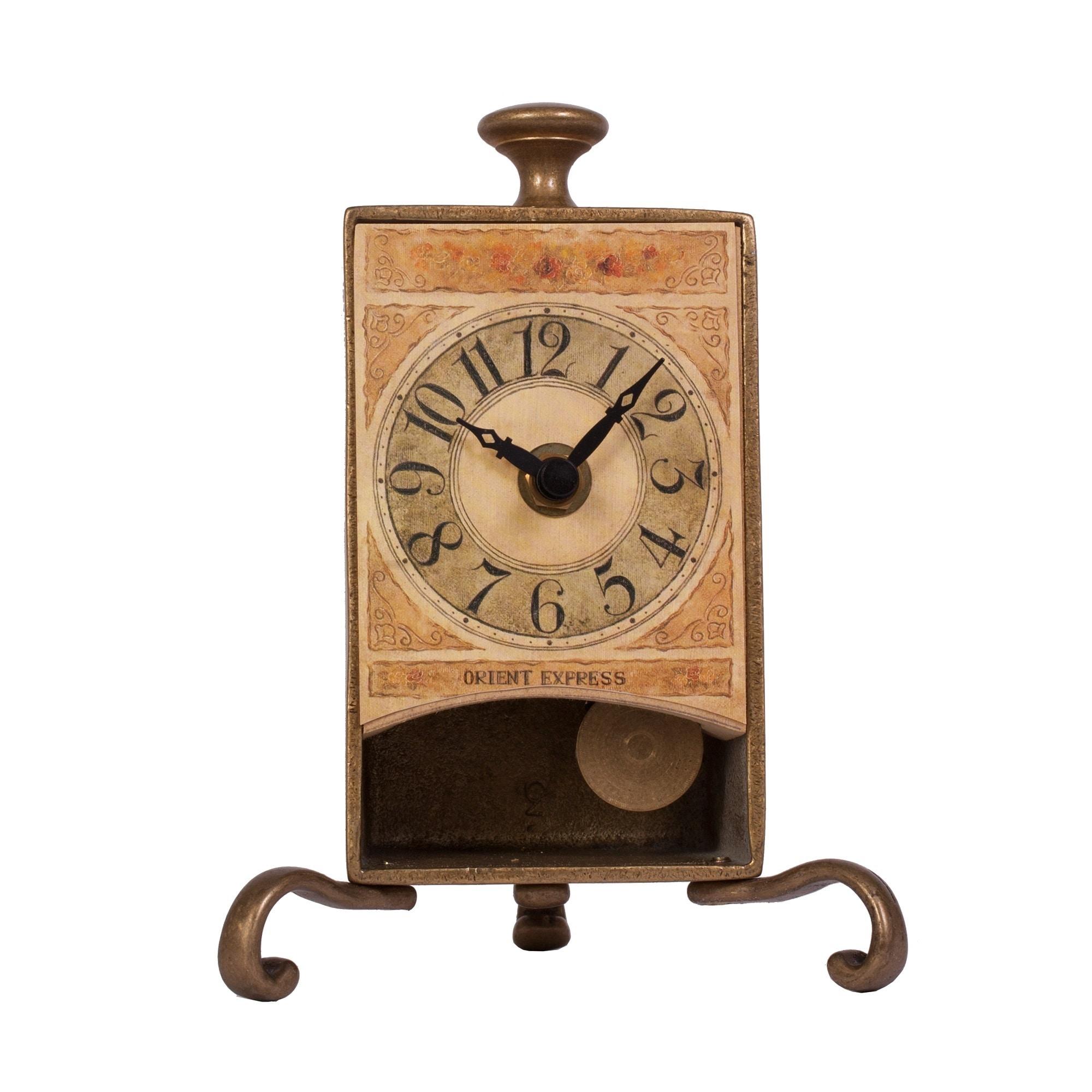 FLASH Hans Andersen Home Antique Brass 6.75-inch Table Pe...