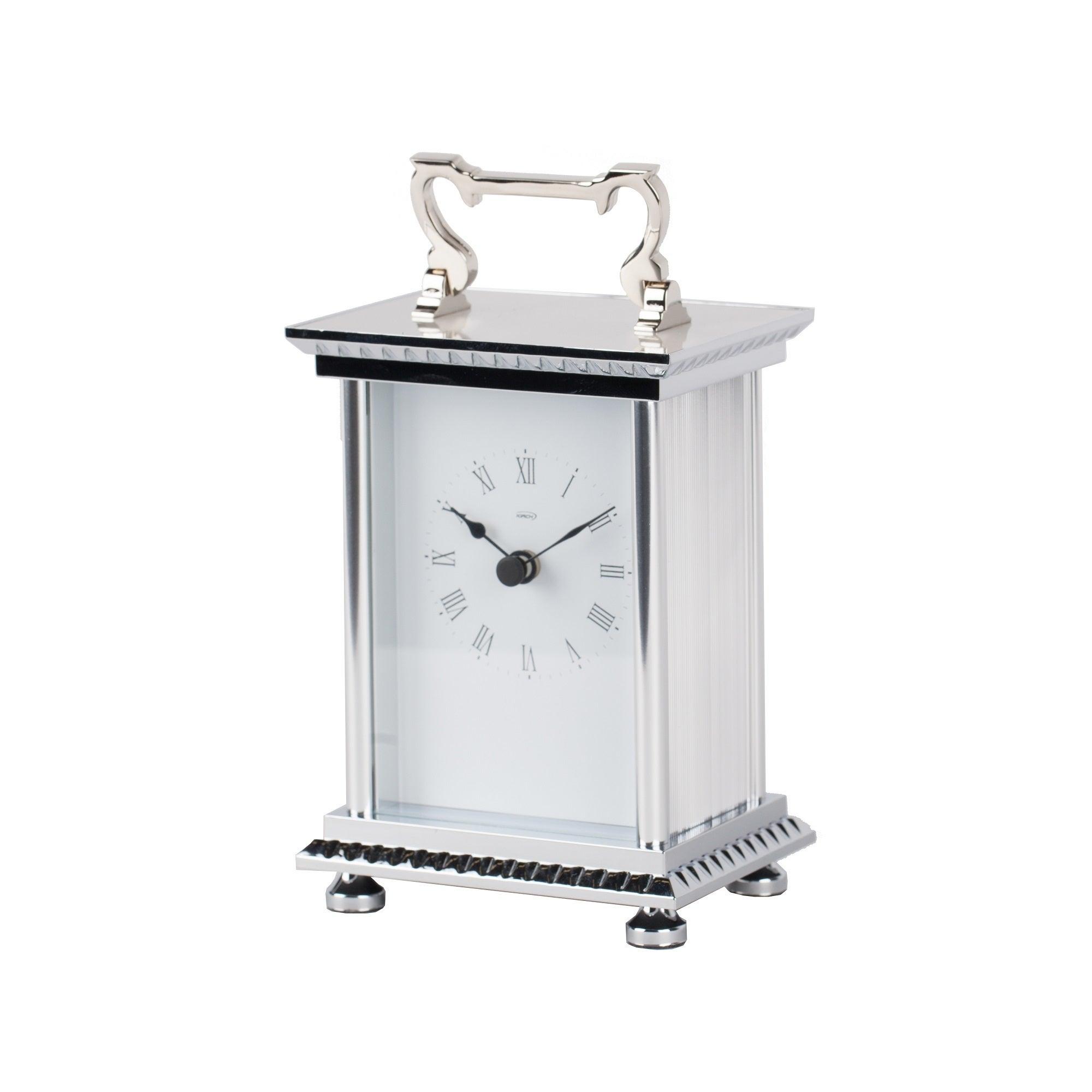 Silvertone Hans Andersen Home Anniversary Carriage Clock ...