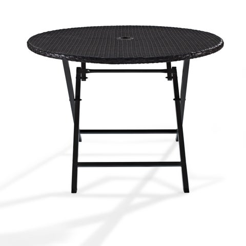 Palm Harbor Wicker Outdoor Folding Table