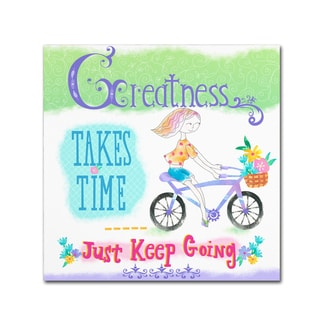 Lisa Powell Braun 'Greatness' Canvas Art