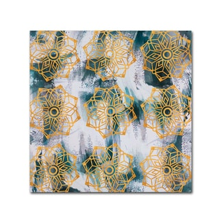 Lisa Powell Braun 'Mandalas' Canvas Art