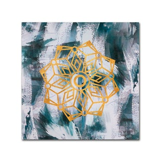 Lisa Powell Braun 'Mandala' Canvas Art