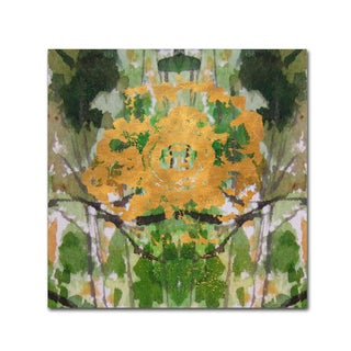 Lisa Powell Braun 'Geode Abstract 2' Canvas Art