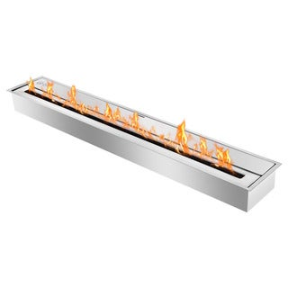 Ignis EHB4000 - Eco Hybrid Bio Ethanol Burner - 40 inches long x 7.4 inches high x 6.4 inches deep