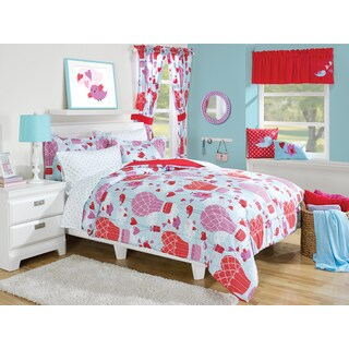 Up & Up Pink 3-piece Comforter Set