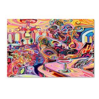 Josh Byer 'Cold Shoulder' Canvas Art