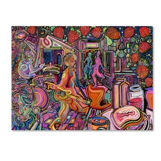 Josh Byer 'Strawberry Jam' Canvas Art - Multi