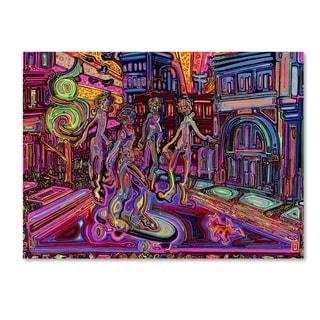 Josh Byer 'Posse' Canvas Art