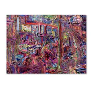 Josh Byer 'Dominance' Canvas Art