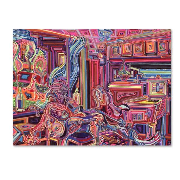 Josh Byer 'Tolerance' Canvas Art - Pink