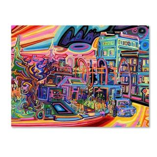 Josh Byer 'Dusk' Canvas Art
