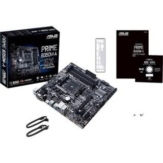 Asus Prime B350M-A/CSM Desktop Motherboard - AMD Chipset - Socket AM4