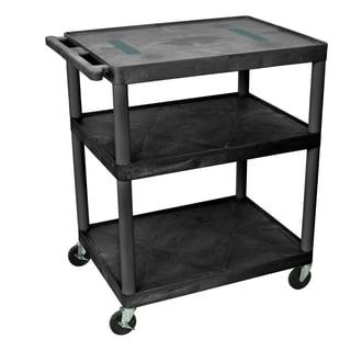 Offex 40-inch 3-shelf Endura A/V Cart