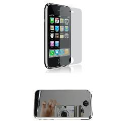 Apple iPhone 3G 3GS Reusable and Mirror Screen Protectors - Thumbnail 1