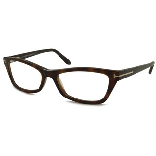 Tom Ford Women's TF5265 Rectangular Reading Glasses (+1.75) in Havana (As Is Item)