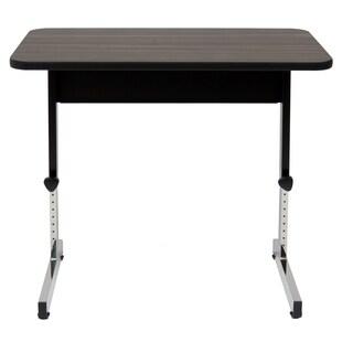 Offex Home Office 20 x 36 Adapta Table - Black / Walnut