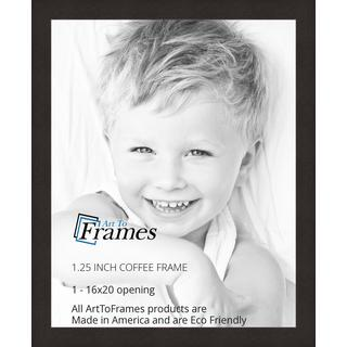 ArtToFrames Coffee Frame Picture Frame, WOMFRBW26061, Various Sizes