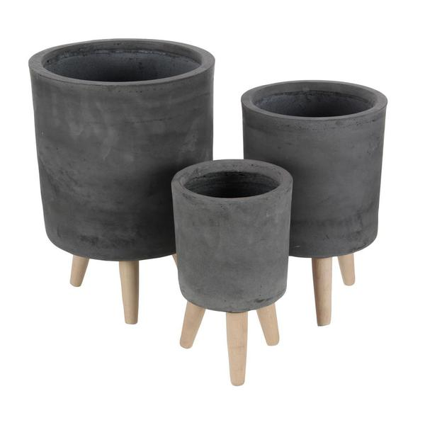 round planters woodwaves products hanging southwest clay planter