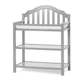 Child Craft Penelope Dressing Table, Cool Gray
