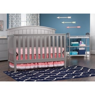 Child Craft Delaney 4-in-1 Convertible Crib Cool Gray