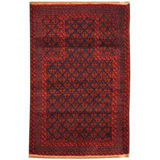 Handmade Balouchi Wool Rug (Afghanistan) - 3'1 x 4'9