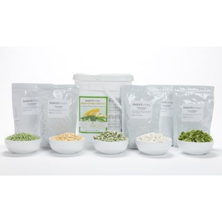 Nutristore Freeze-dried Vegetable Variety Bucket (60 Large Servings)