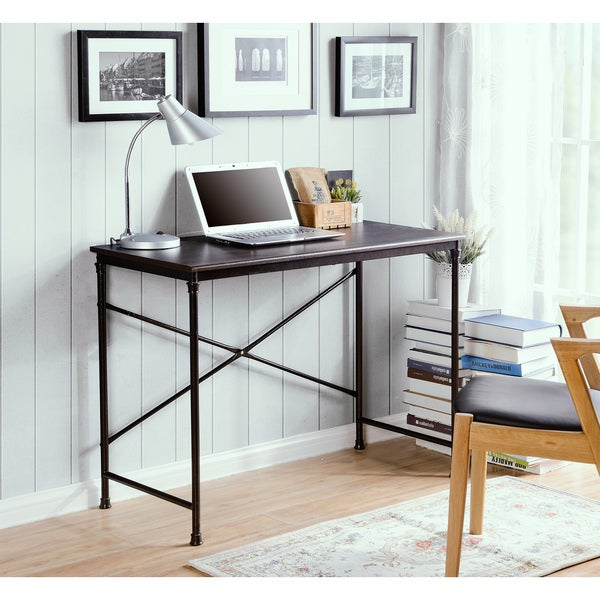 Prospero writing desk with Metal Legs