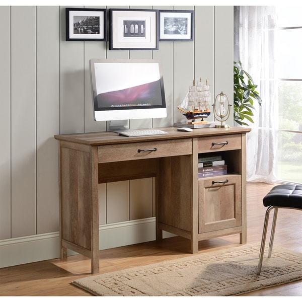 Bianca Computer Desk In Reclaimed Wood Finish