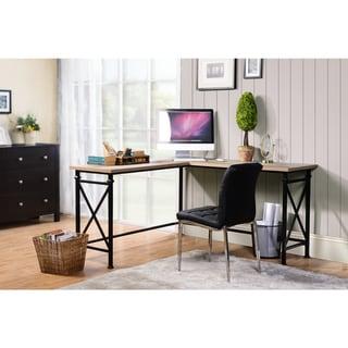 Jaeparli Casual L-Desk, Grayish Brown
