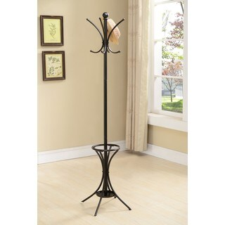 K and B Furniture Co. Inc.  Pewter Metal 8-hook Hat and Coat Rack