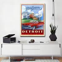 Ready2HangArt Canvas Art 'Motown - Detroit' by Dorothea Taylor