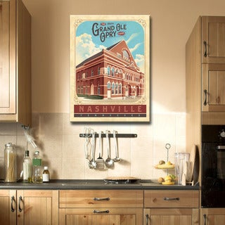 Ready2HangArt Canvas Art 'Grand Ole Opry - Nashville' by Dorothea Taylor