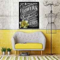 Ready2HangArt Canvas Art 'LOF - Daffodil' by Dorothea Taylor