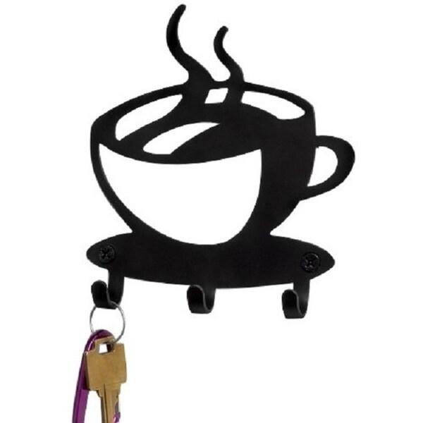 Shop Decorative Wall Mounted Key Holder- Coffee Decor Key Organizer ...