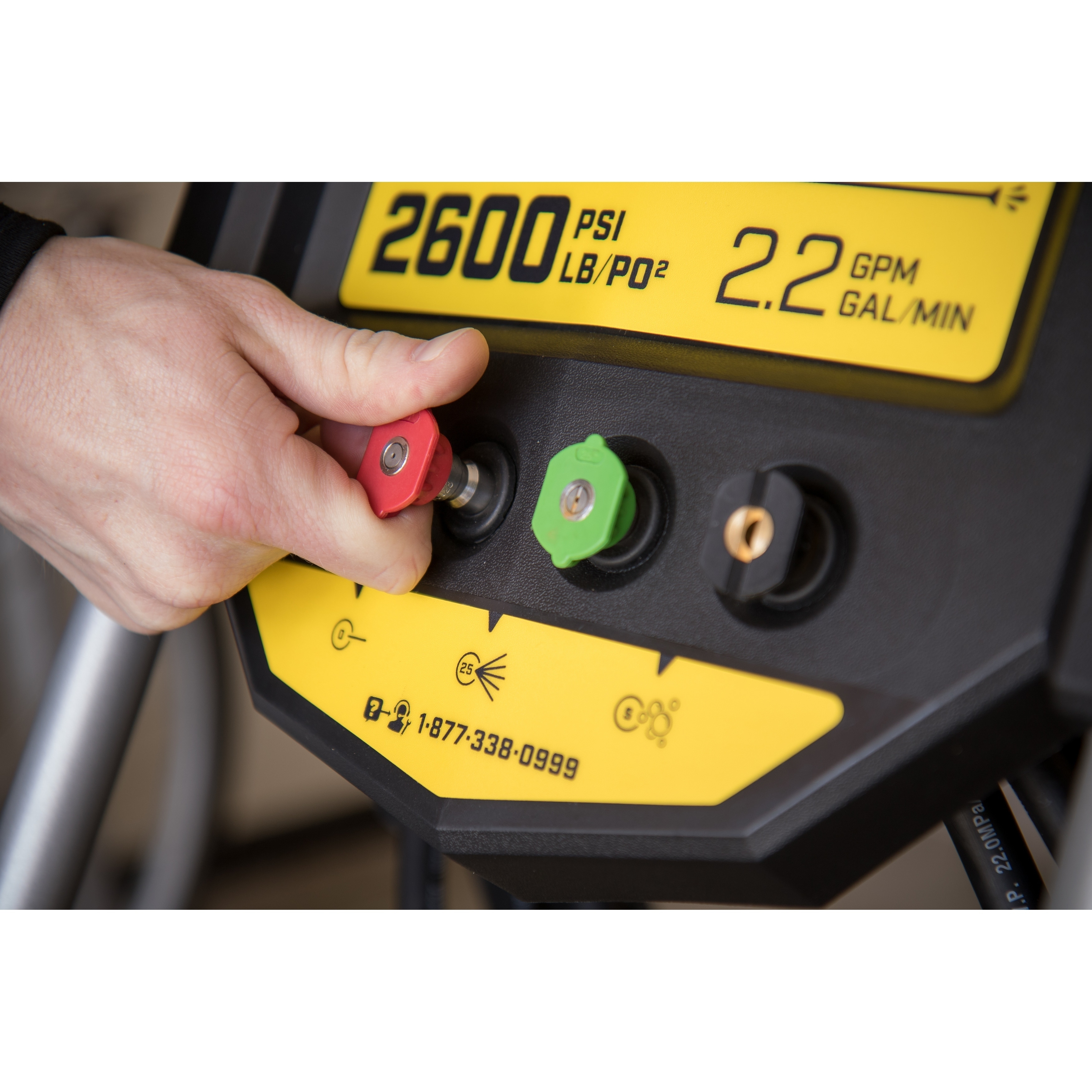 Champion 2600-PSI 2.2-GPM Dolly-Style Gas Pressure Washer...