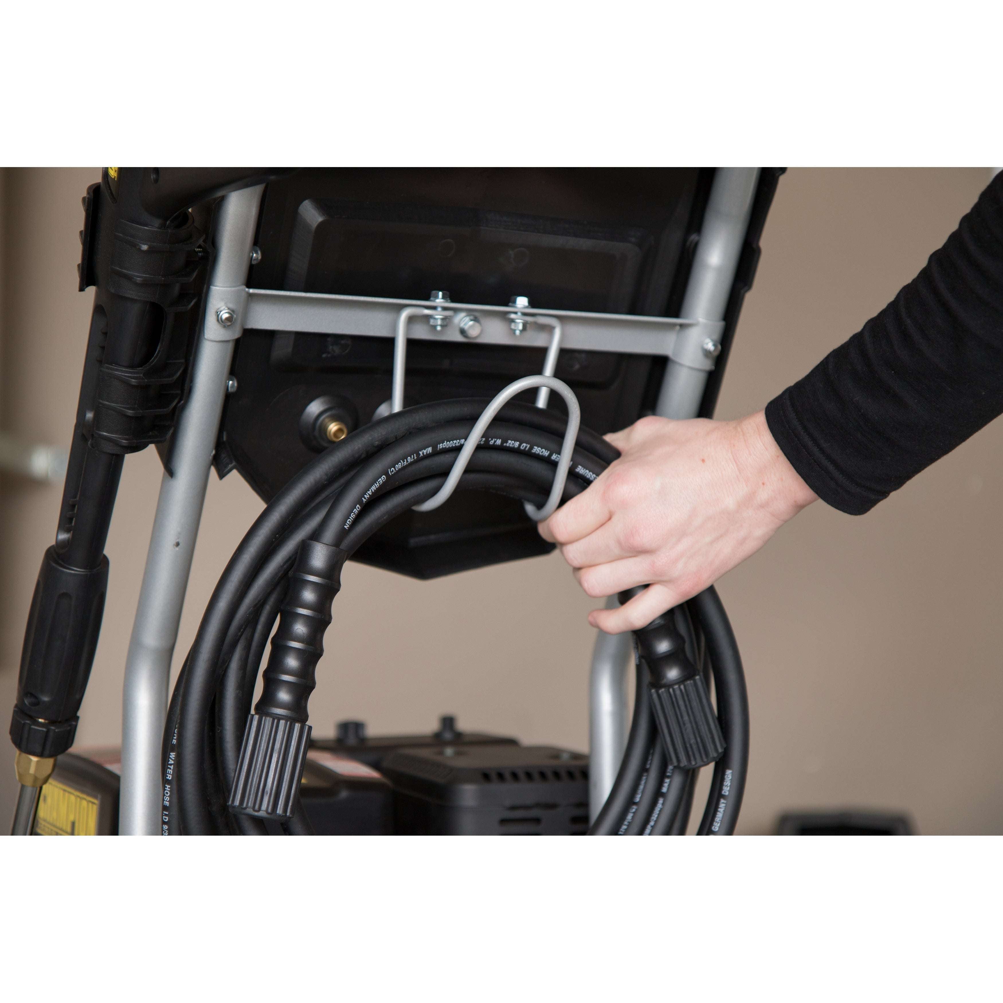 Champion 3200-PSI 2.4-GPM Dolly-Style Gas Pressure Washer...