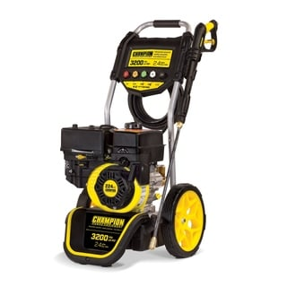Champion Power Equipment 100384 3200 PSI 2.4 GPM Dolly Style Gas Powered Pressure Washer with Annovi Reverberi Axial Cam Pump
