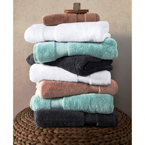 Towels Beyond Becci Collection Ultra Soft and Thick Turkish Cotton 6-Piece Towel Set