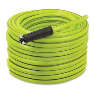 Sun Joe Aqua Joe 100-Foot 5/8-Inch Heavy-Duty Garden Hose (Option: Green)