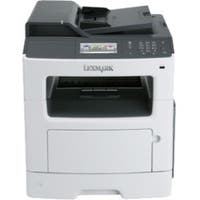 Lexmark MX417de Laser Multifunction Printer - Monochrome - Plain Pape