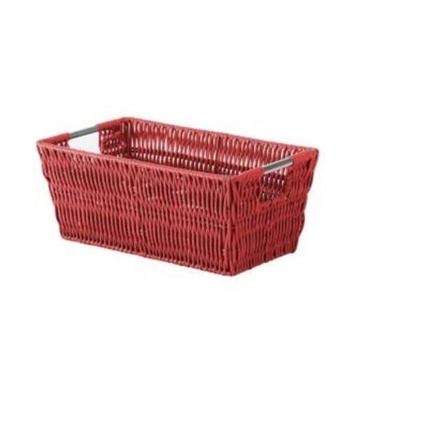 Whitmor Red Fabric Storage Shelf Tote