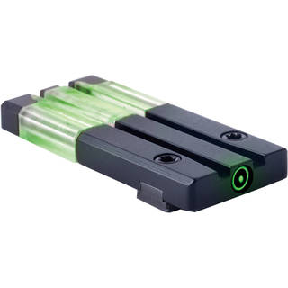 MEPROLIGHT LTD ML63101 Fiber-Tritium Bullseye Circle-Dot Pistol Sight (Glock/Rear/Green)