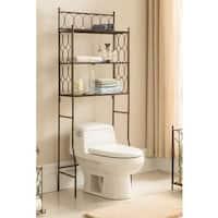 Copper Iron 3 Tier Bathroom Rack