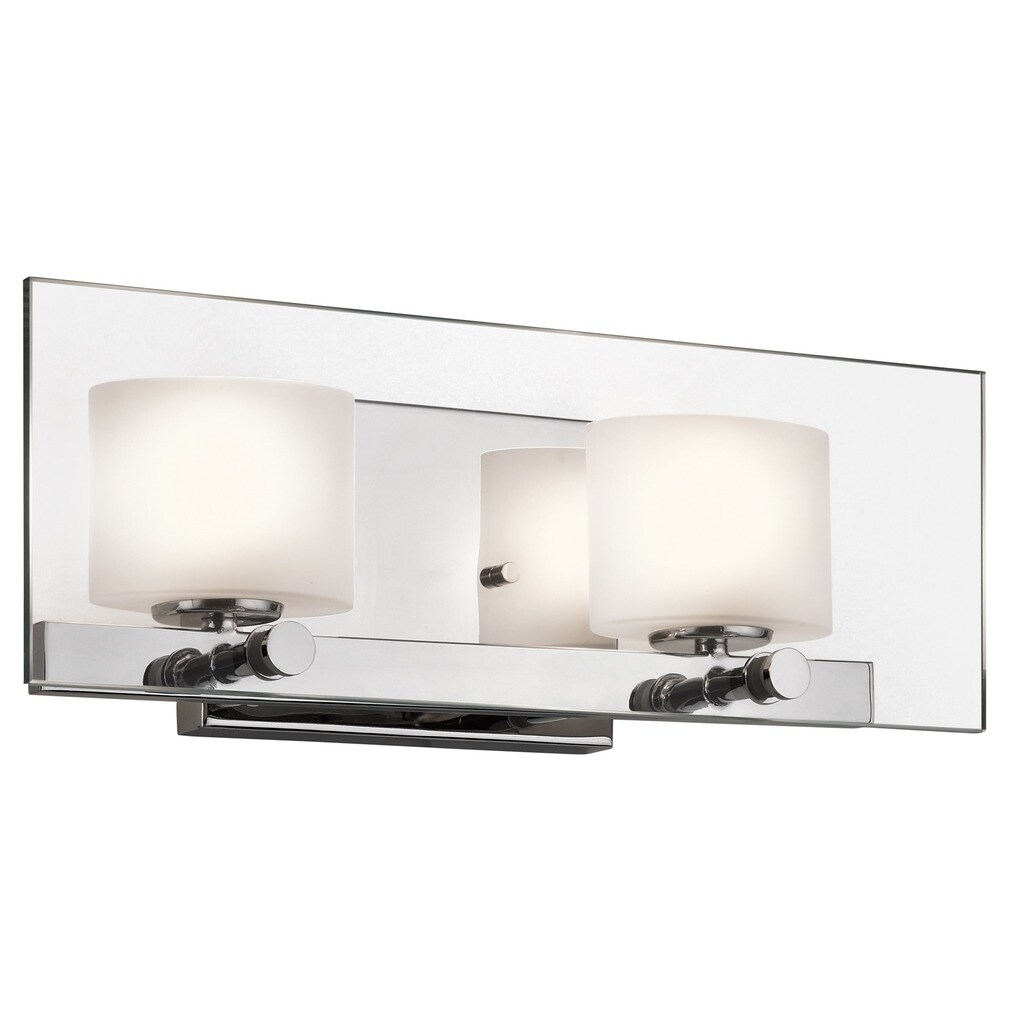 Kichler Lighting Como Collection 2-light Chrome Halogen B...
