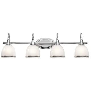 Kichler Lighting Rory Collection 4-light Chrome Bath/Vanity Light