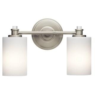 Kichler Lighting Joelson Collection 2-light Brushed Nickel LED Bath/Vanity Light