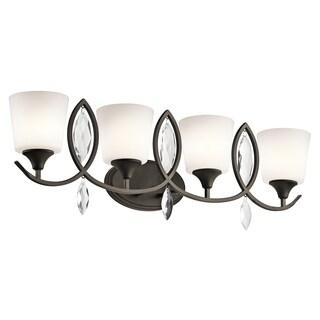 Kichler Lighting Casilda Collection 4-light Olde Bronze Bath/Vanity Light