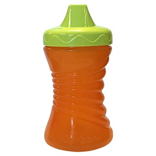 NUK Gerber Graduates Fun Grips Orange Plastic 10-ounce Hard Spout Cup
