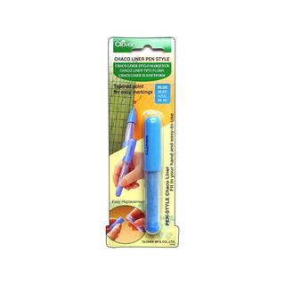 Clover Chaco Liner Pen Style Blue