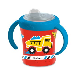NUK Gerber Graduates Red Truck Advance 7-ounce 2-Handle Trainer Spout Cup